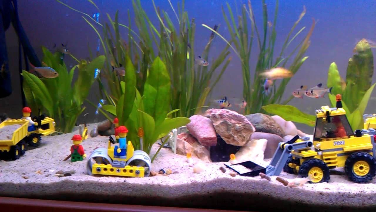 Turtle Tank Decor Lego In An Aquarium Sk P Google Fish Tank Pinterest