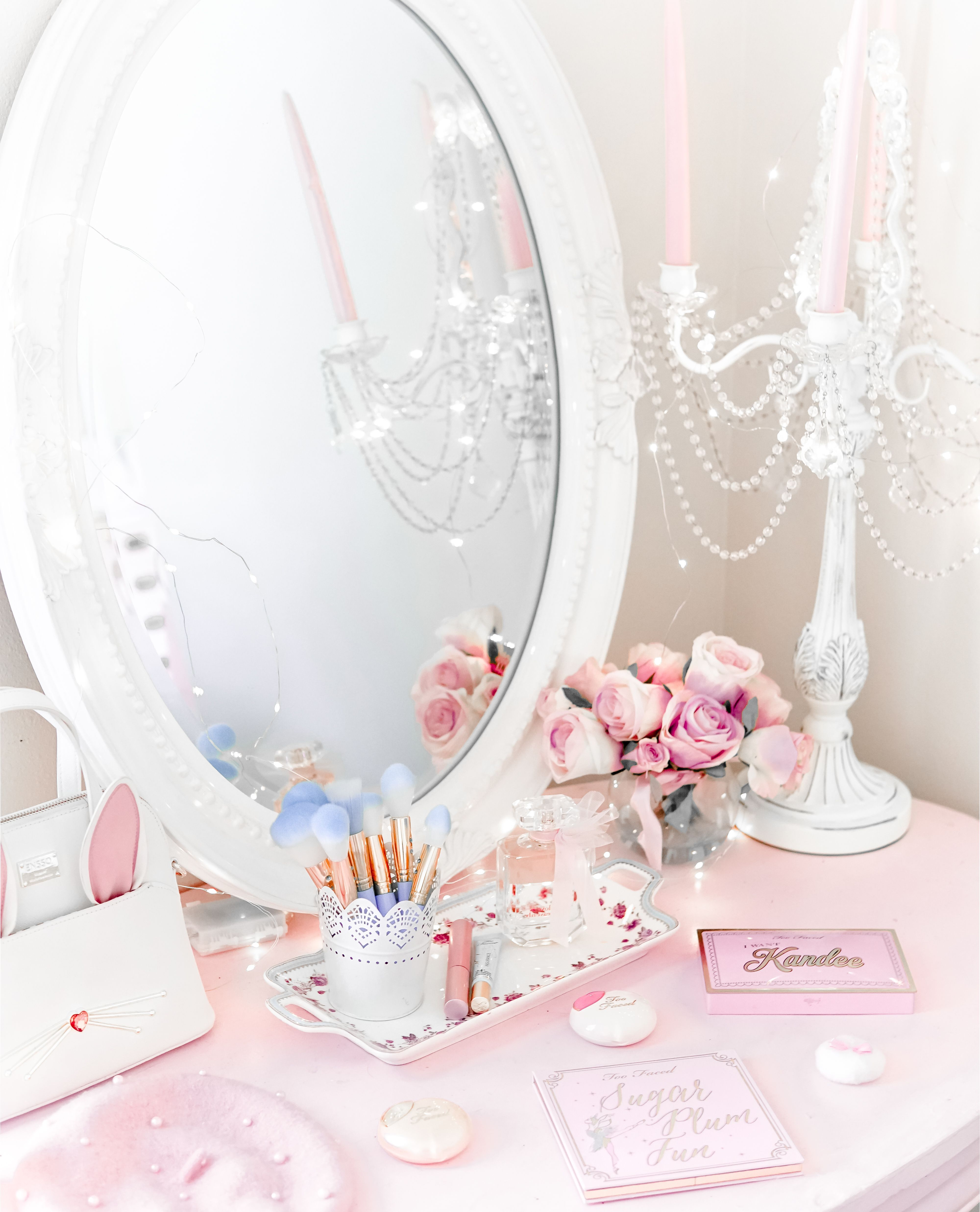 Little Girl S Bedroom Decorating Ideas And Adorable Girly: How To Make Your Workspace Pretty & Girly