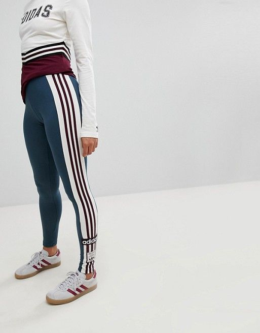 Dark Greythrowback Leggings In Adidas Originals Adibreak 29EHDI