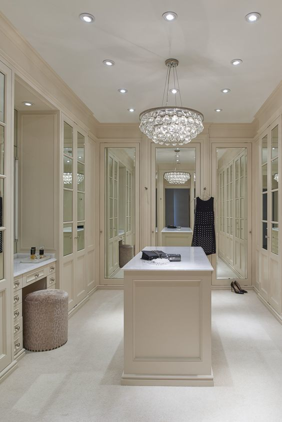 Dress Room Design: At Alliance Robes, More And More We're Seeing Clients