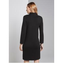 Photo of Mini vestido de mujer Tom Tailor con bolsillos, negro, talla 40 Tom TailorTom Tailor