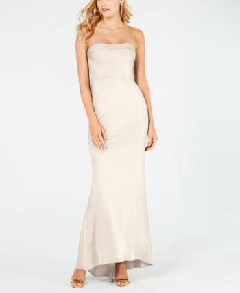 professional sale official site good Adrianna Papell Petite Lola Strapless Gown - Ivory/Cream 0 ...