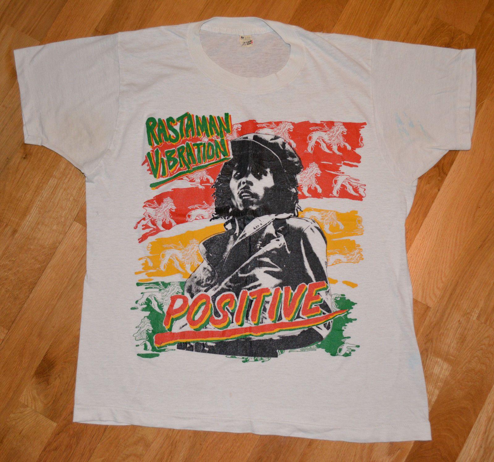 1980 S Bob Marley Vintage Rare Rock Reggae Band Concert T Shirt M L Wailers Ebay Concert Tshirts Reggae Bands Bob Marley Concert [ 1496 x 1599 Pixel ]