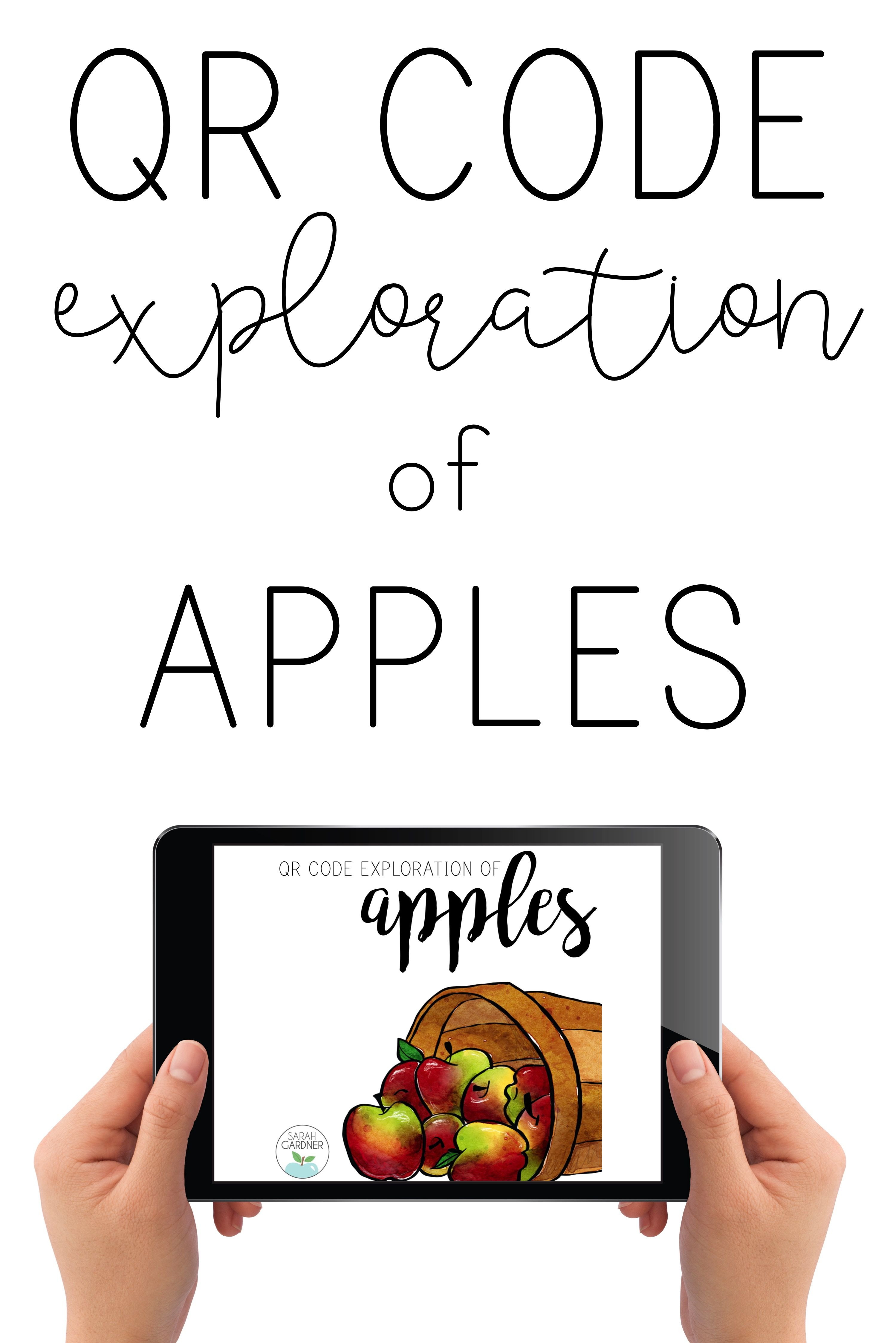 Apples Qr Code Exploration Distance Learning