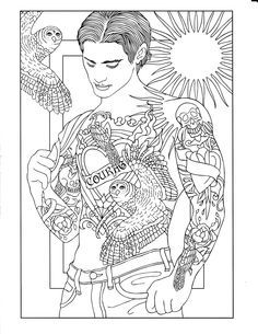 body art tattoo designs coloring book pesquisa google - Body Art Tattoo Designs Coloring Book