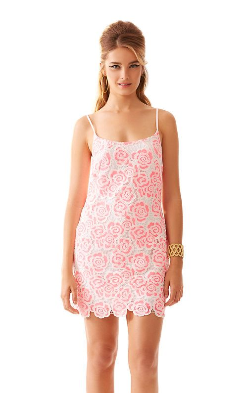 f94a3d04eee88b Shop Lilly Pulitzer's Beth Spaghetti Strap Lace Slip Dress. Shop for the  Beth Spaghetti Strap Lace Slip Dress with complimentary shipping and  effortless ...