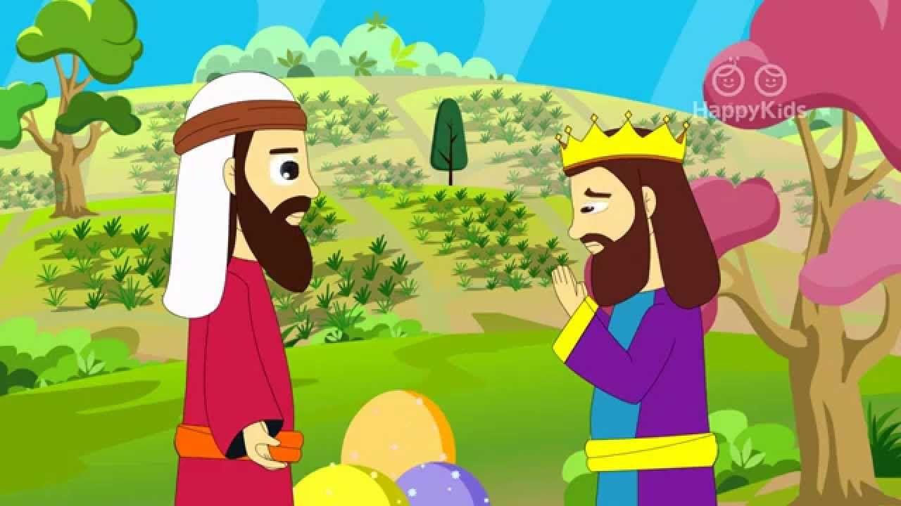 Ahab Naboth S Vineyard I Book Of Kings I Animated Children S