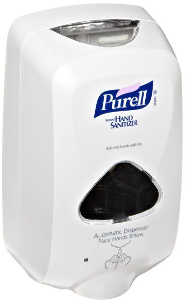 Purell 2720 Dove Gray Tfx Touch Free Hand Sanitizer Dispenser