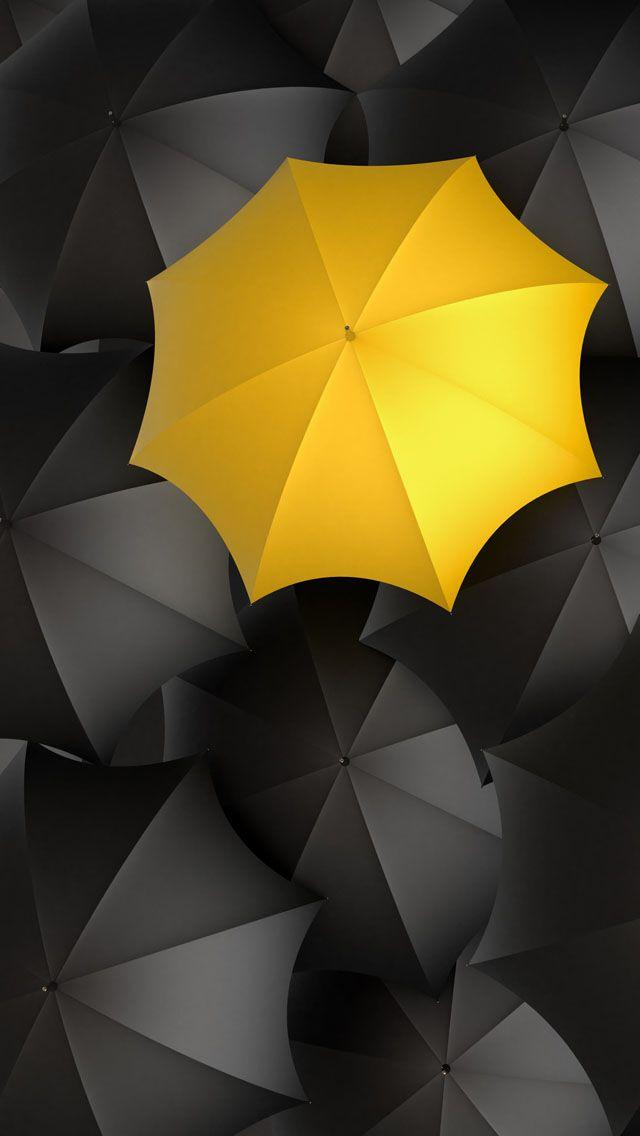 Let It Rain Iphone 5s Wallpaper Download Iphone Wallpapers Ipad Wallpapers One Stop Download Yellow Umbrella Umbrella Photography Yellow Wallpaper