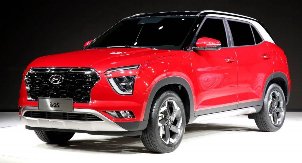 All New Hyundai Ix25 Is A Bold Looking Subcompact Crossover New Hyundai Hyundai Subcompact