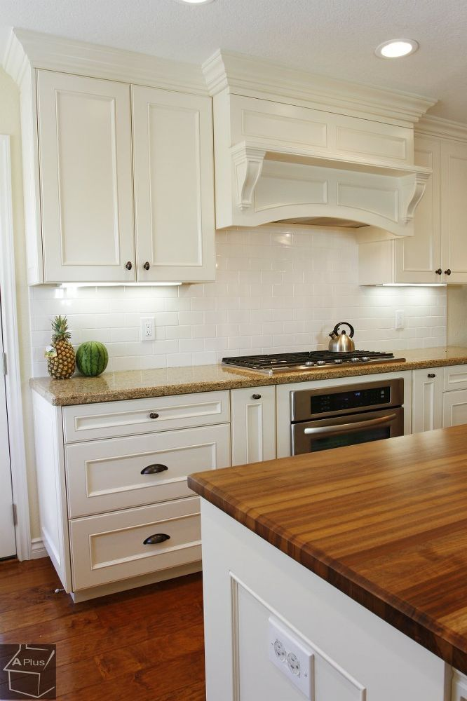 Complete Kitchen Remodel With Custom Cabinets