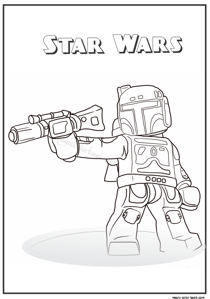 Pin by Magic Color Book on Star Wars Coloring pages free online ...
