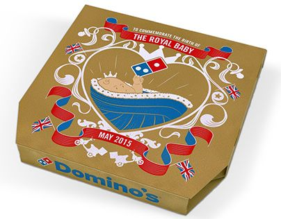 """Check out new work on my @Behance portfolio: """"Domino's Commemorative Box"""" http://on.be.net/1d24LEs"""