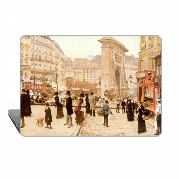 Paris Macbook Pro 13 touch bar Jean Béraud  Case MacBook Air