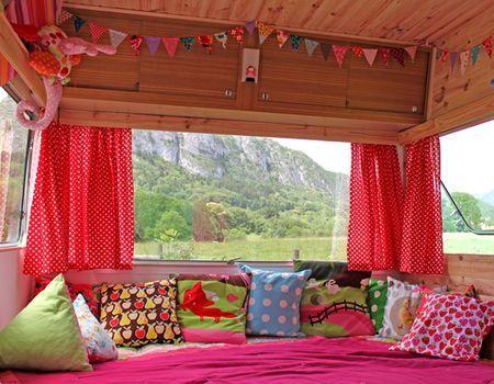 La cabane-caravane de Laëtibricole | caravane | Pinterest ...