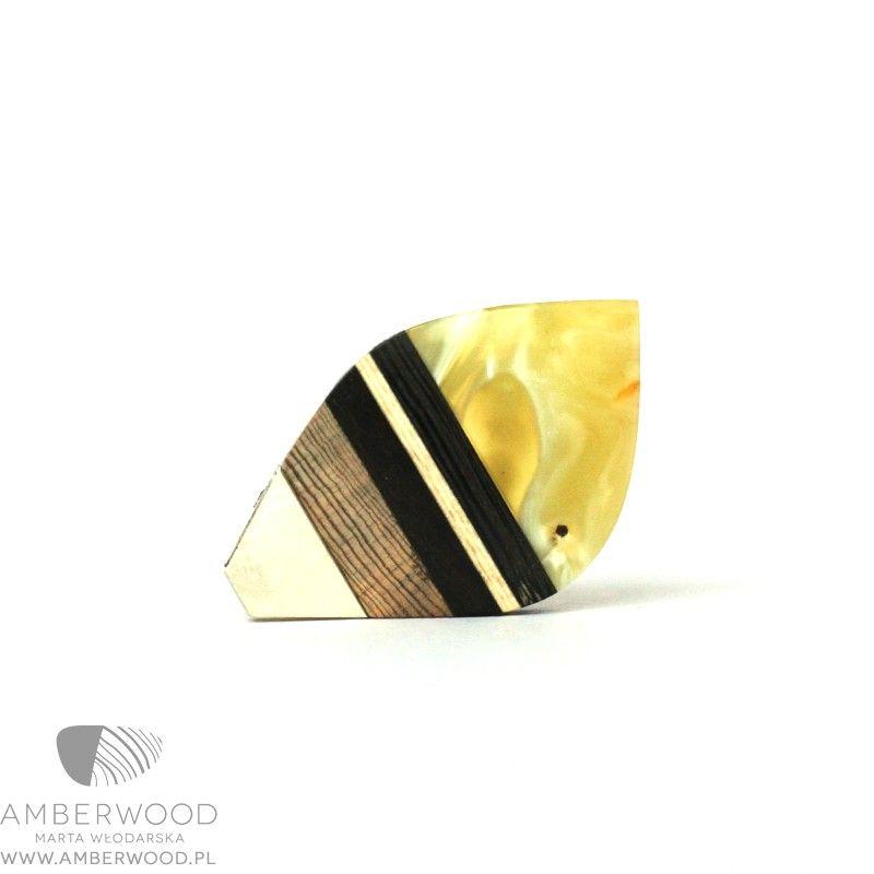 Necklace Amberwood LEAFS1N