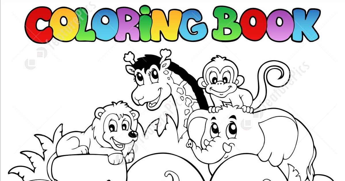 Templates Coloring Book Zoo Sign With Animals Stock Pages Coloring Extraordinary Coloring Zoo Animal Coloring Pages Zoo Coloring Pages Animal Coloring Books