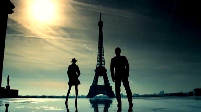 Jude Law & Michaela Kocianová for Dior Homme. #fashion #judelaw #parfum #paris #toureiffel #france