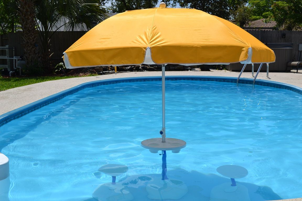 Relaxation Station Pool Lounge | Pool umbrellas, Pool lounge ...