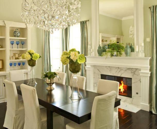 Living Room Decorating Ideas Aqua Dining Rooms Green Dining