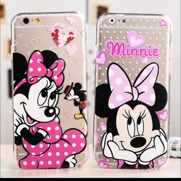 finest selection abec6 324ae Transparent clear Minnie Mouse iPhone 6+, 6S +case Transparent clear ...