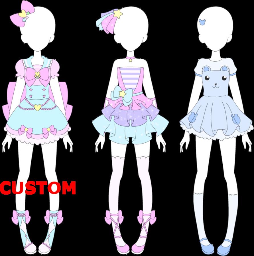 MRA Fairy Kei 6 by VanillaChama Art clothes, Costumes