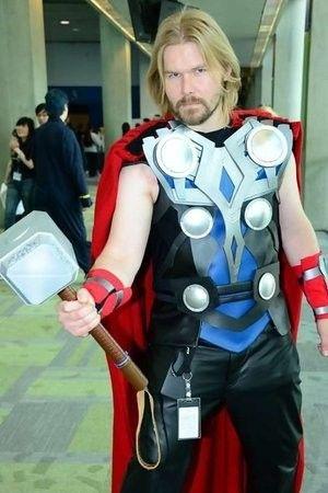 Battle Of The Avengers Cosplay Guy Vs