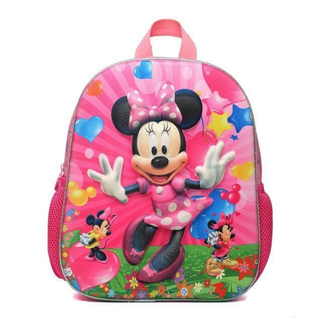 42dd44de1c0f 2016 Cartoon minnie children backpacks kids kindergarten backpack kid  school bags Satchel for