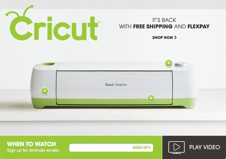 Cricut Machines For Scrapbooking Crafts Projects At Hsn End