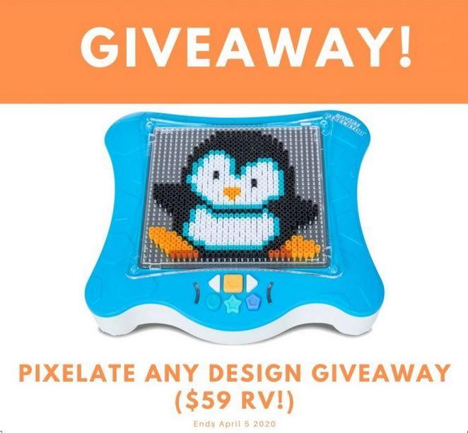 Pixelate Any Design Giveaway Ends 4/5 @FlycatcherToys