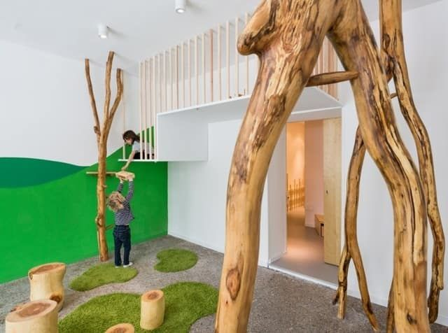 31 Ways To Make Your House A Kid's Paradise Indoor tree