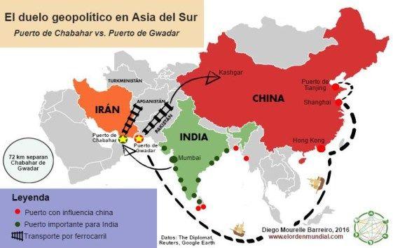 India y China se disputan la influencia en Asia del sur a travs