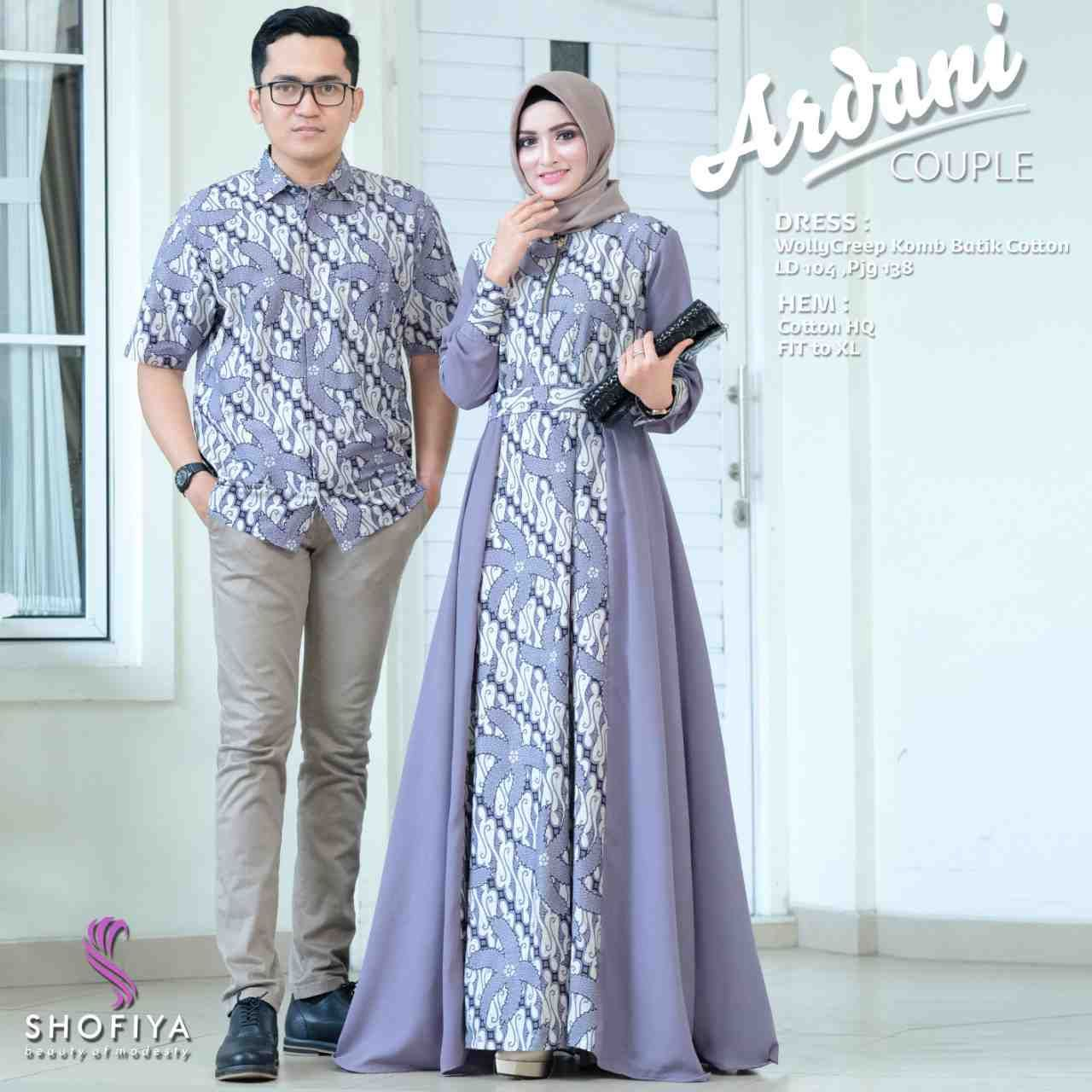 Model Batik Gamis Couple Modern di 11  Model baju wanita, Model