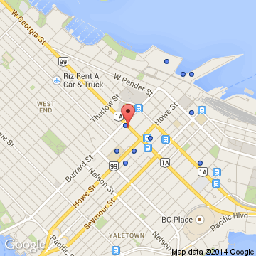 Map Of Hotels In Vancouver Canada The Fairmont Hotel Vancouver (Vancouver, Canada) | Expedia