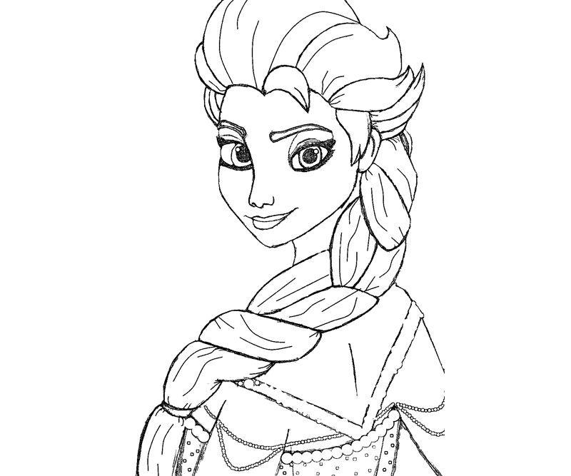 regina di ghiaccio frozen da colorare | coloring 6 | Pinterest ...