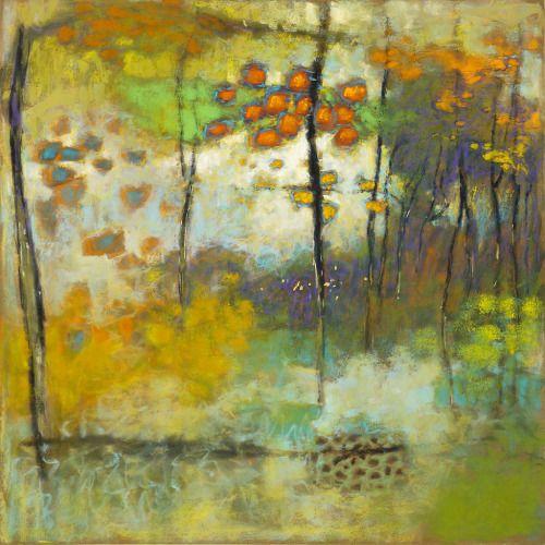 "Lingering Impressionspastel on paper | 24 x 24"" | 2013Rick Stevens art"