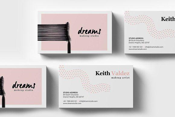 Makeup Studio Business Card Template Business Card Template
