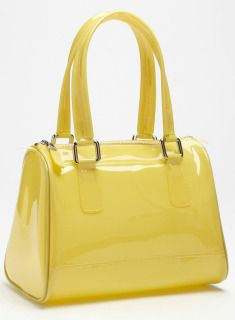 Melie Bianco satchel goes from day to night.