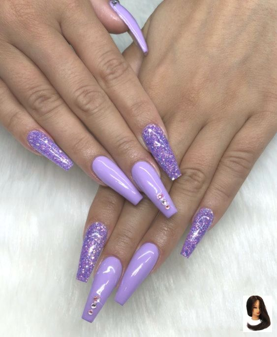 60 SUPER NICE AND HIGH-QUALITY SPARKLING NAILS  Page 36 of 60
