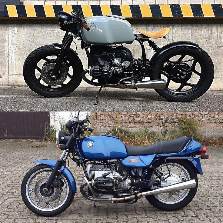 bmw r80 bobber motorcycles getunte motorr der bmw. Black Bedroom Furniture Sets. Home Design Ideas