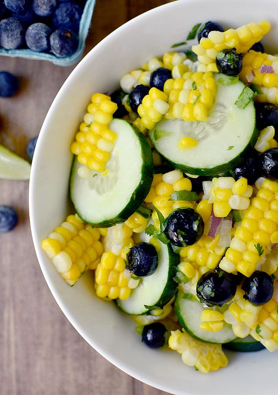 Better Homes And Gardens Corn And Blueberry Salad