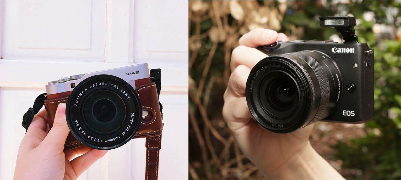 Perbandingan Kamera Fujifilm X A3 Dengan Canon M3 Eos Kamera Canon