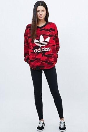 Jerséis de mujer - Adidas Clash Sweatshirt | Ropa adidas ...