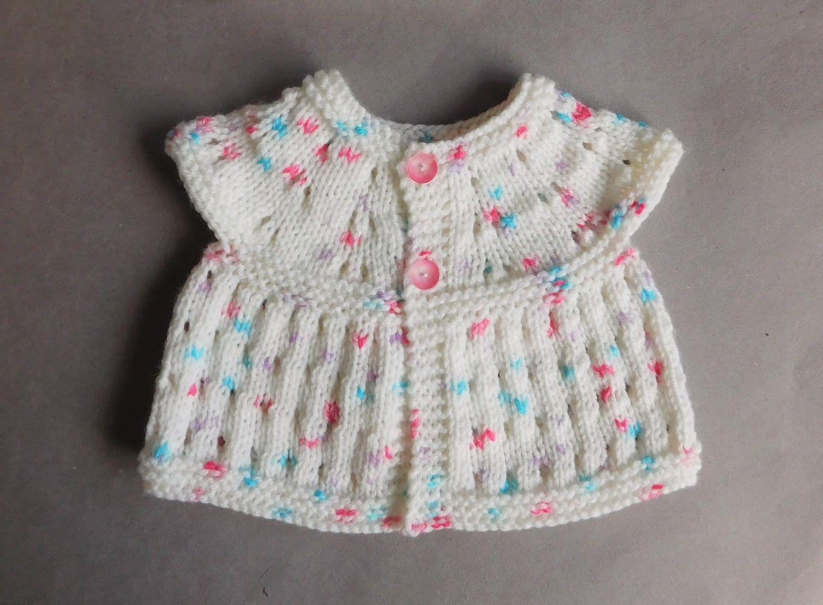 marianna\'s lazy daisy days - Carla Baby Top. Free pattern   knit ...