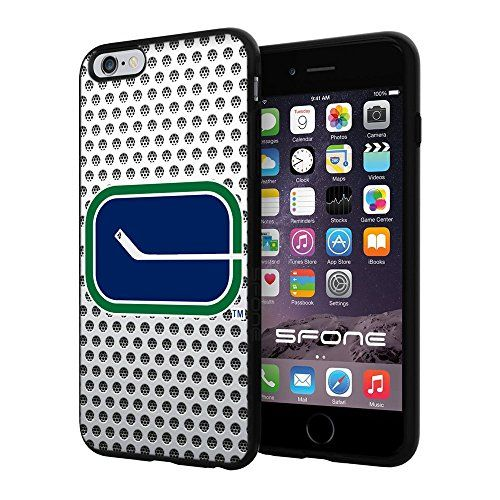 Vancouver Canucks 3 Net NHL Logo WADE5273 iPhone 6+ 5.5 inch Case Protection Black Rubber Cover Protector WADE CASE http://www.amazon.com/dp/B013SUMKII/ref=cm_sw_r_pi_dp_8MLDwb090PZQN