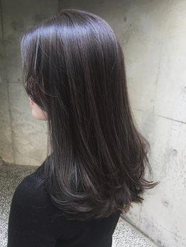 Acqua Aoyama アクア 青山 ワンカール大人かわいい暗髪ハイライト