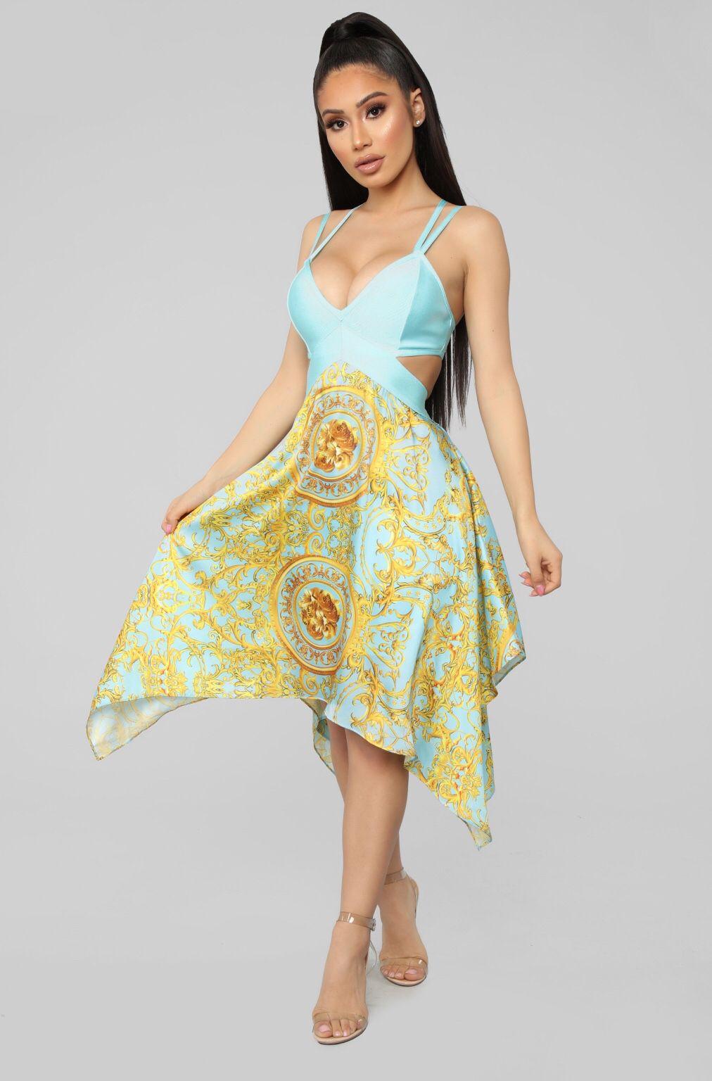 58667e50304 Muy Caliente Bandage Dress - Blue in 2019