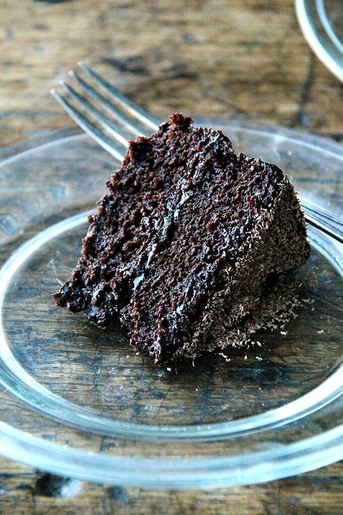 Gourmet S Double Chocolate Cake Revisited Alexandra S Kitchen Recipe Double Chocolate Cake Recipes Chocolate Cake