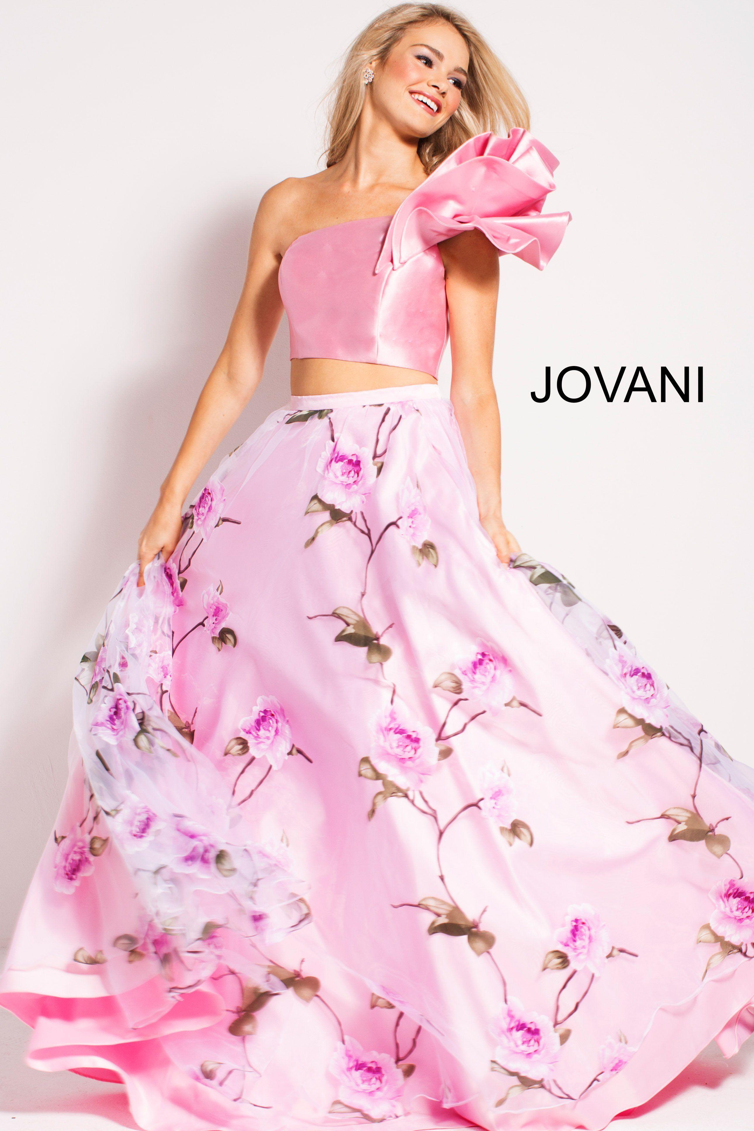 Encantador Vestido De Fiesta Jovani Embellecimiento - Colección de ...
