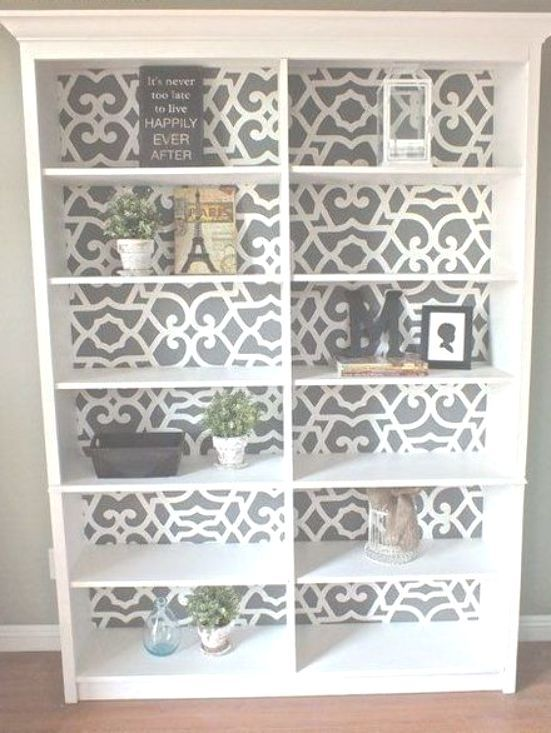 Photo of : Easy DIY Home Decor Project – Stenciled Kitchen Walls – Makeover your kitchen …